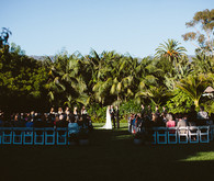 Santa Barbara wedding ceremony
