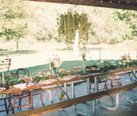 Hops wedding decor