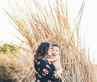 Newport Beach back bay maternity photos