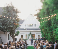 Lombardi House wedding ceremony