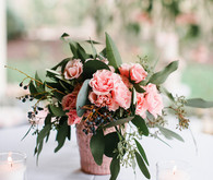 pink party florals