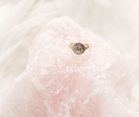 Rose quartz and serenity wedding inspiration