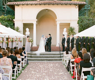Elegant wedding ceremony