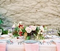 Garden tea party wedding