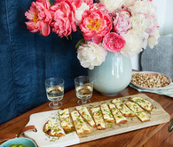 A modern glam easter brunch