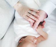 elegant newborn photos