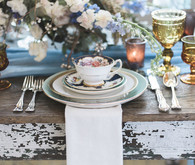 Vintage blue wedding inspiration