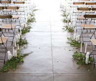 Loft wedding ceremony