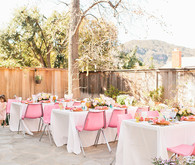 Tropical bridal shower