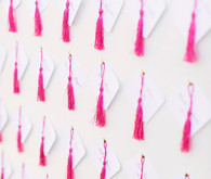 Tassel escort cards
