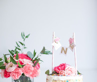 Elegant pink 1st birthday party