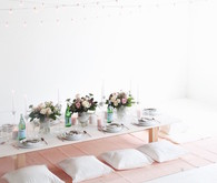 feminine parisian inspired baby shower