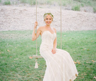 Bride in swing
