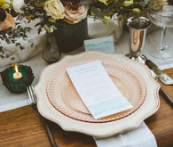 Earth toned wedding inspiration