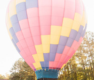 Hot air balloon anniversary
