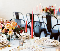 Modern tablescape