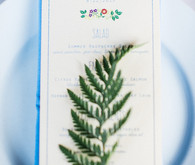 Fern wedding decor
