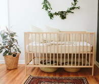 gender neutral bohemian nursery