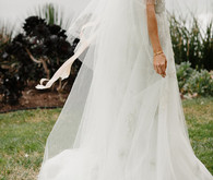 Monique Lhuillier wedding gown