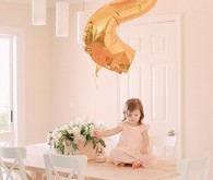 Blush 2nd birthday shoot