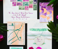 Whimsical California spring wedding