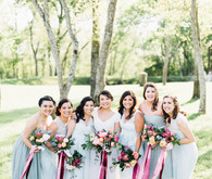 Garden inspired Texas wedding
