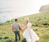 Unique UK elopement