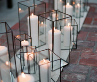 Modern candle holders