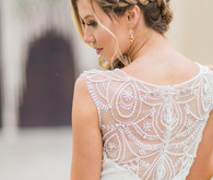 Braided wedding hairstyle