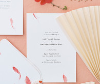 Modern Asian inspired spring wedding ideas