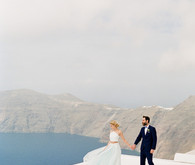 Santorini wedding inspiration
