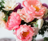 Pretty peony wedding inspiration