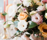 Brown and pink wedding ideas