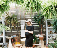 greenhouse maternity photos