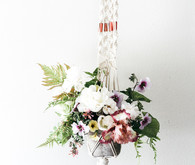Macrame and floral workshop