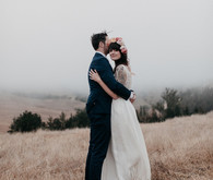 Bohemian farm wedding