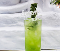 Green cocktails