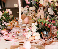 Romantic pink wedding inspiration