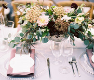 Lavendar wedding decor
