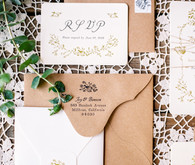 Summer wedding invitations