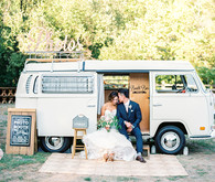 Vintage VW Photo booth bus