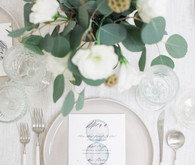 Simple wedding decor