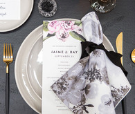 Moody tablescape by Minted