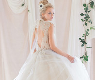 Romantic wedding dress