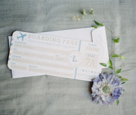 Travel themed baby shower invites