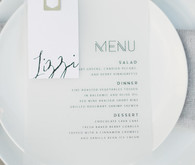 Simple modern place setting