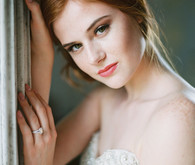 Romantic bridal hairstyle