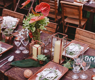 Destination Mexico wedding decor