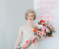 Neon pink wedding ideas