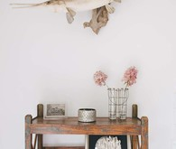 simple, rustic decor
